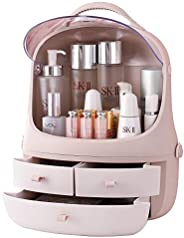 The premium quality makeup organizer with Drawer Jewelry Box 2020, portable cosmetic storage box, makeup jewel
