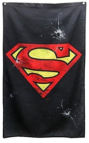 DC Comics Superman Logo Banner