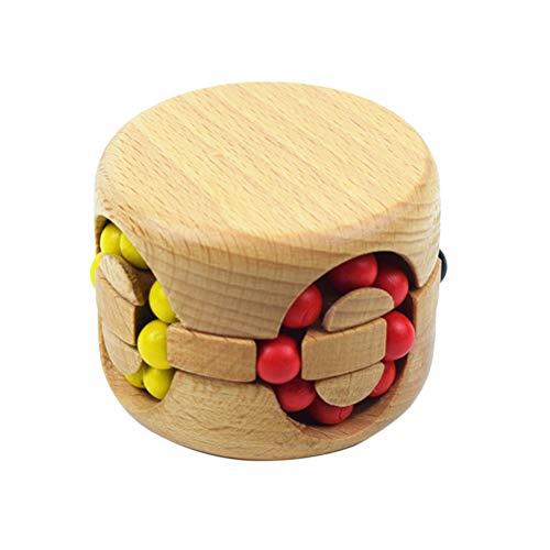 Toyvian Rompecabezas Juguete de China Bloqueo de Rompecabezas Educativo Hamburgo Cubo mágico Rompecabezas Rompecabezas Juguete para niños