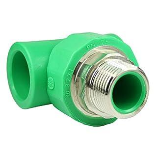 PPR Aqua-Plus T-Stück für 32mm Rohre und 1 Zoll Außengewinde