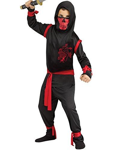 Fun World Dragon Ninja Warrior Childs Halloween