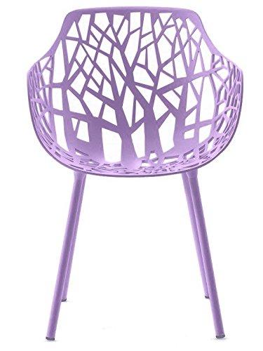 Fauteuil Forest Aluminium Item 6500 Couleur Lilac
