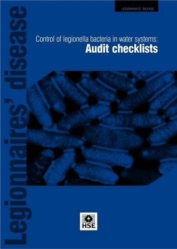 Control of legionella bacteria in water systems: audit checklists (Leaflet)