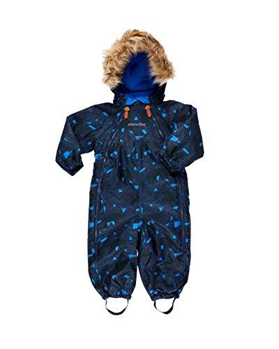 MINYMO - Traje de nieve - para bebé niño azul náutico 98 cm