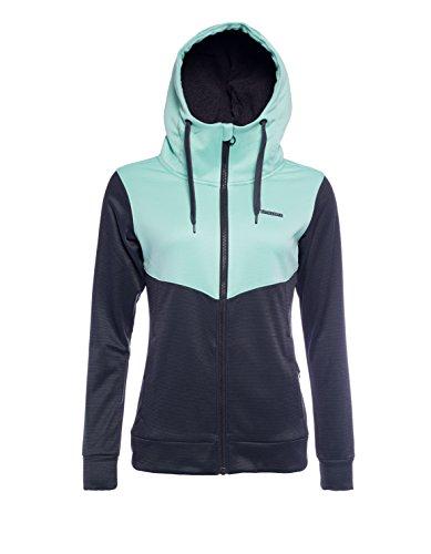 Zimtstern Damen Izabelle Fleece Jacket, Black, S