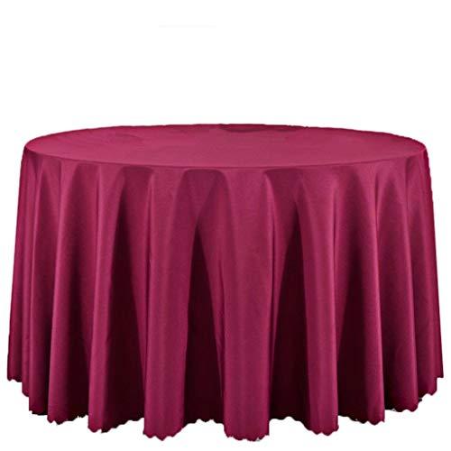 Hotel Restaurant Restaurant européen, nappe, nappe en tissu polyester enduit, conférence, rectangulaires 47,24 * 47.24cm nappe nappe Tapis de table Linge de table couvercle ( Couleur : rouge vin )