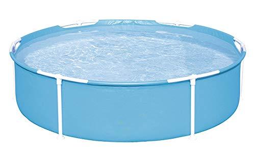 CBWZDJZDS Freibad Kinder Runde Halterung Pool Tube Rack Pool Paddle Pool Hellblau 152X38Cm (Paddle-pool-spiel)