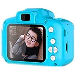 Pongaps Caméra vidéo numérique portative pour Enfants Caméra avec Affichage à l'écran LCD de 2 Pouces Appareils Photo numériques