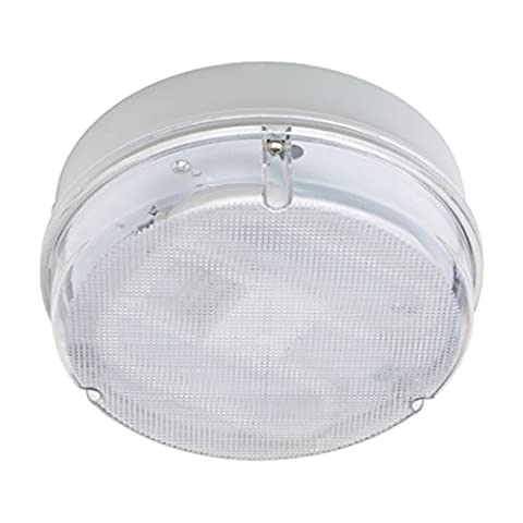 Leyton Lighting Maximo 28w Outdoor White Bulkhead Light IP65 2D bulb required 282mm