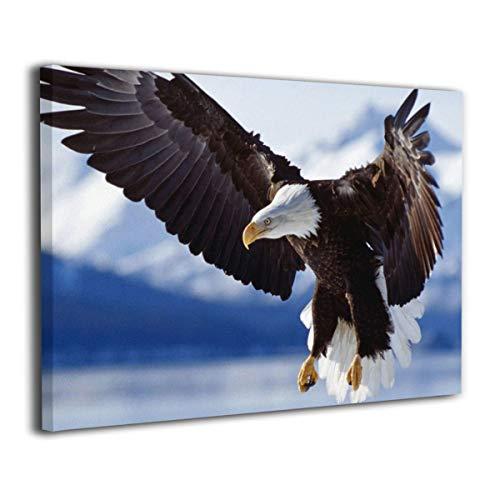 Rtytgfdw Frameless Oil Painting Bald Eagle Living Room Bedroom Modern Decoration Painting (Bald Eagle Artwork)