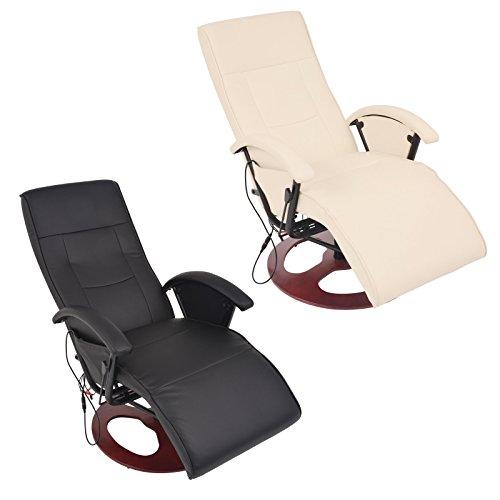Massagesessel Fernsehsessel Relaxsessel Massage Heizung TV Sessel CRÈME