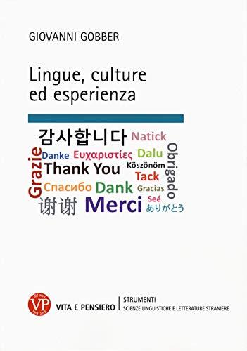 Lingue, culture ed esperienza
