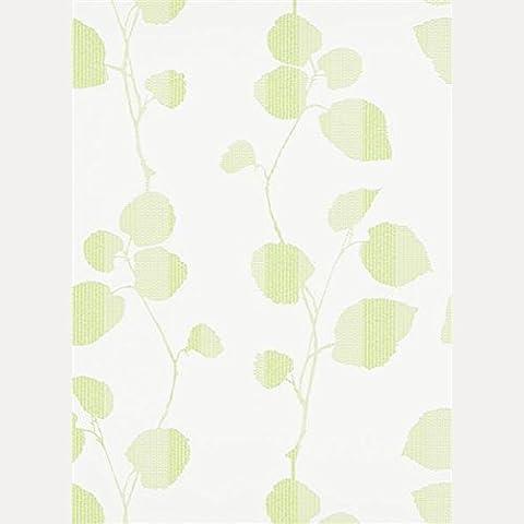 Erismann Tapeten Summer Breeze Vliestapete 6886-07 688607 Blätter weiß grün