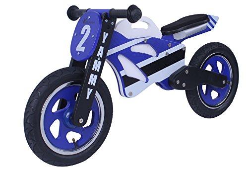 Kidzmotion Yammy Mini moto d'équilibre en bois