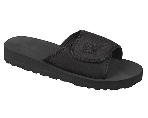 Mens Velcro Flip Flop Mule Sandals Size 6 to 12 UK -...