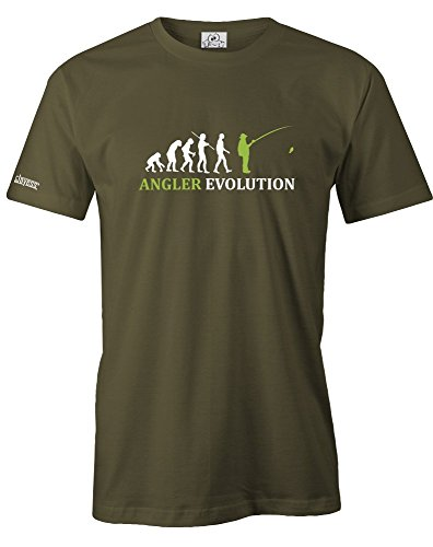 ANGLER EVOLUTION - HERREN - T-SHIRT in Army by Jayess Gr. S