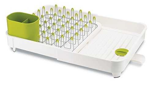 Joseph Joseph Extend Expandable Dish Rack - White/Green