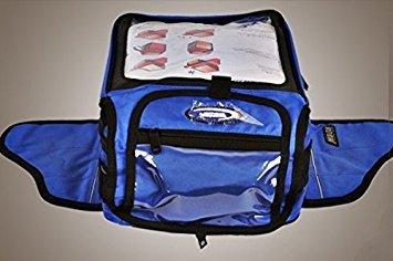 Hot Scoyco Magnettankrucksack Motorradtankrucksack Zurück Tasche Helmtasche Blau