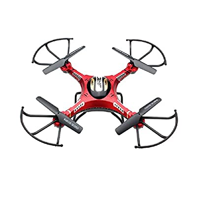 3D Flip RC Aircraft Drone, Megadream JJRC-H8D 6 Axis Gyro 360 Degree Rotation Flips Quadcopter RTF 4CH Headless Flying with LED Light for Night Flying