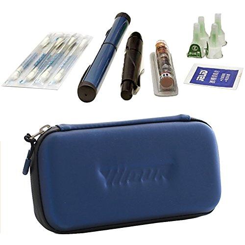 41oe7nVXgOL - Bolsa de Insulina para Diabéticos, Bolsa Diabética para Guardar Jeringas para Giabéticos, Insulina y Medicamentos - Azul
