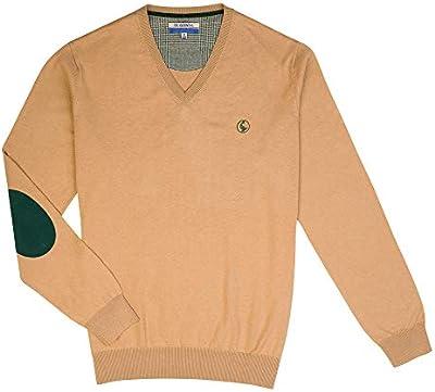 El Ganso 1 Camisa casual, Marrón (Camel 0001), mall para Hombre
