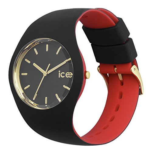 Ice-Watch – ICE loulou Black Gold – Women's wristwatch with silicon strap – 007235 (Medium)