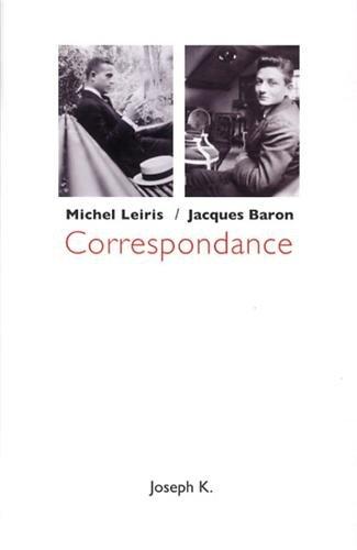 Correspondance par Michel Leiris