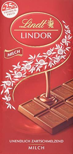 Lindor Tafel, Milch, Promotion, 6er Pack (6 x 100 g)