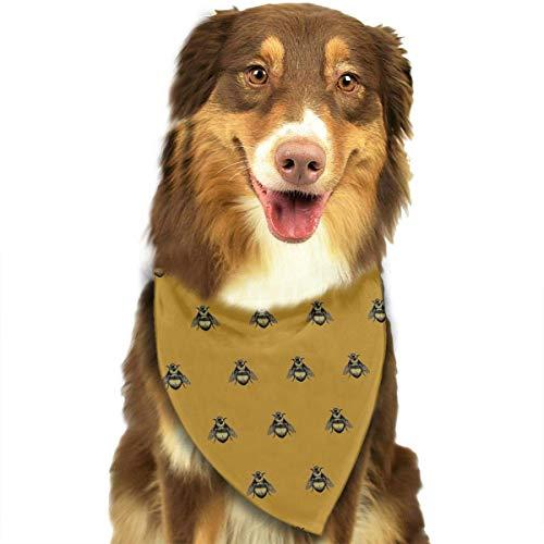 Kostüm Verkauf Mops Zum - Sdltkhy Bee Picture Pet Bandana Washable Reversible Triangle Bibs Scarf - Kerchief for Small/Medium/Large Dogs & Cats