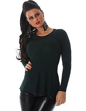Voyelles para mujer Sudadera con cuello redondo con costura fina Sudadera con capucha y manga larga