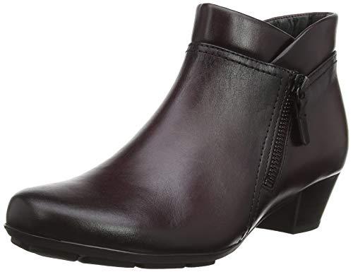 Gabor Shoes Damen Basic Stiefeletten, Rot (Wine (Effekt) 25), 39 EU