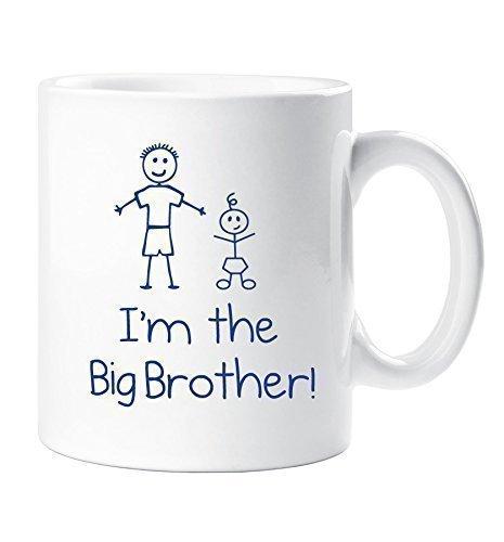 Ich bin der große Bruder 12oz Tasse Geschenk