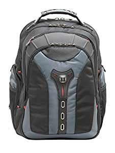 "Wenger 600639 PEGASUS 17"" MacBook Pro Backpack , Anti-scratch lining with iPad/Tablet / eReader Pocket in Blue {16 Litres}"