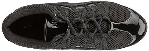 Bloch S0523 Wave Tanz Sneaker, Schwarz EU 39.5, UK Ad 6.5, US 9.5 - 6