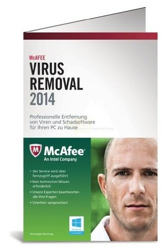 McAfee Virus Removal Service 2014 (Remote-zugriff)