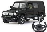 Jamara 403910 Mercedes-Benz G55 AMG 1:14 27MHz-offiziell lizenziert, bis 1 Std. Fahrzeit bei 11 Km/h, LED, Per