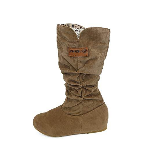 Bazhahei donna scarpa,ragazza stivali piatti lungo tubo scarpe,invernali/autunno tacchi alti scarpe singole stivaletti flat shoes casual con tacco basso stivale,boots moda da donna