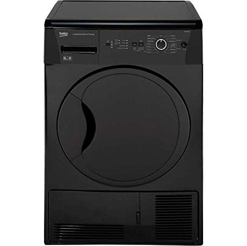 Beko DCUR801B 8KG B Rated Black Condenser Tumble Dryer