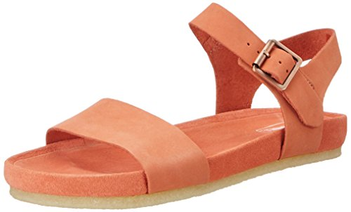 Clarks Damen Dusty Soul Slingback, Orange (Light Coral), 40 EU
