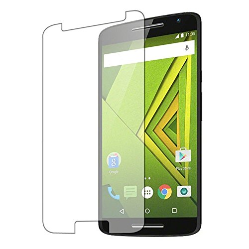 Hashcart Tempered Glass Screenguard For Motorola Moto X Play Mobile Curve Edge Screen Guard