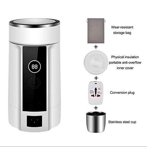 JZWX Wasserkocher Mini Reise Klappkessel Tragbare Elektrische Heißwasser Tasse Kleine Kapazität Low Power,B