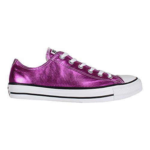1J793 Converse Mandrini Charcoal Grey Chuck Taylor All Star HI PINK|METALLIC