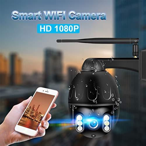 Preisvergleich Produktbild xue binghualoll, Haushaltsgegenstände,  elektronisches Zubehör, WiFi PTZ Dome Kamera 1080P Sicherheit IP IR Kamera Nachtsicht 4X Optischer Zoom AU