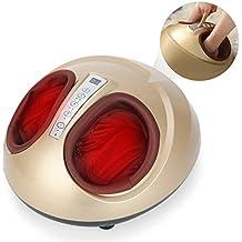 Massajeador para Pies, Yevita Masajeador Calentador de los Pies con Intensidad Ajustable Temporizador Auto-apagar, Desmontable Tela