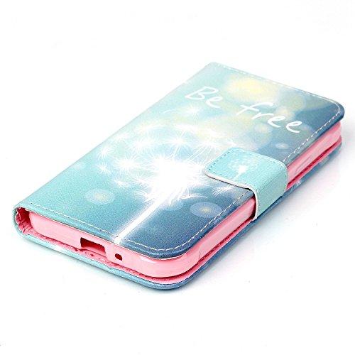 Für Apple iPhone 5C 4 Zoll,Sunrive Magnetisch Schaltfläche Ledertasche Schutzhülle Etui Hülle mit Standfunktion Cover Tasche Case Handyhülle Kartenfächer Kreditkarte Taschen Schalen Handy Tasche Flip  frei