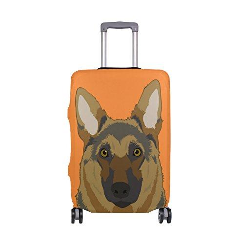 MyDaily Elsässische Hundegepäckabdeckung passend für 45,7-81,3 cm Koffer, Spandex, Reiseschutz