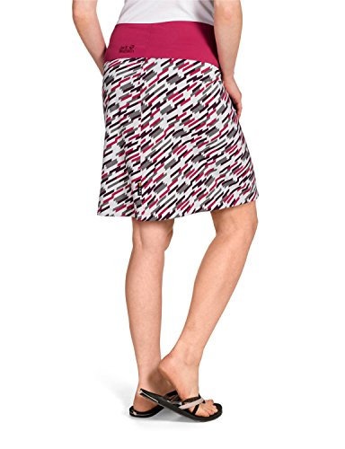 Jack Wolfskin Damen Rock Beaumont Skirt Grapevine All Over