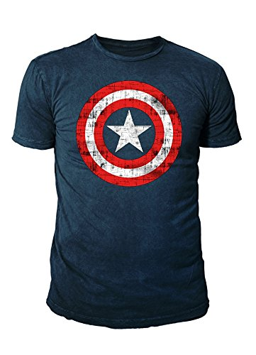 in America Herren T-Shirt - Logo (Navy) (S-XL) (M) ()