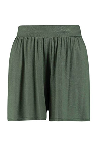 Khaki Naraya Leichte Jersey-Shorts Khaki
