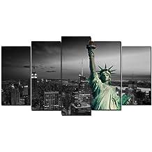 DekoArte 99 - Cuadro moderno, New York, 150 x 80 cm